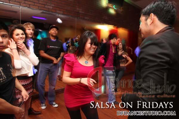 SALSA DANCING EVERY FRIDAY AT DF DANCE STUDIO IN SALT LAKE!